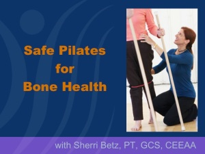 NOF: Safe Pilates and Yoga for Bone Health
